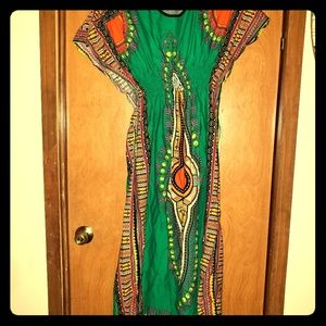 One size fits most dashiki dress